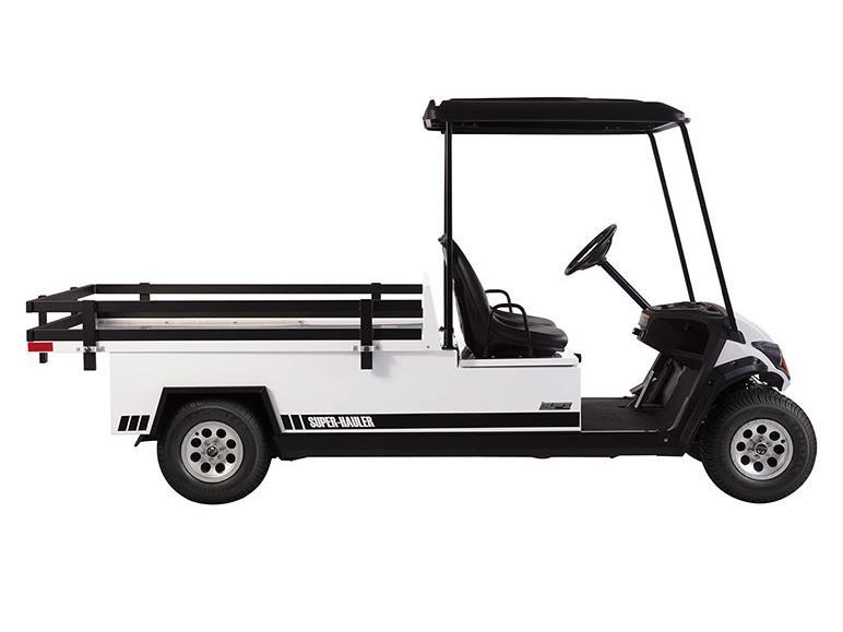 New 2018 yamaha adventurer super hauler ac electric golf for Yamaha golf cart gas vs electric