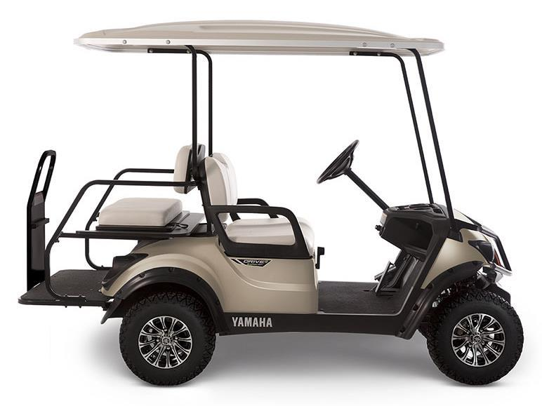 New 2018 yamaha adventurer sport 2 2 gas golf carts in for Yamaha golf cart gas vs electric
