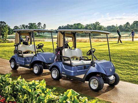 New 2018 yamaha the drive2 fleet gas carbureted golf for Yamaha golf cart gas vs electric