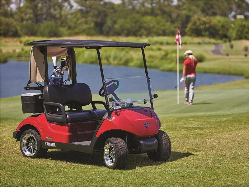 New 2018 yamaha the drive2 fleet gas efi golf carts in for Yamaha golf cart gas vs electric