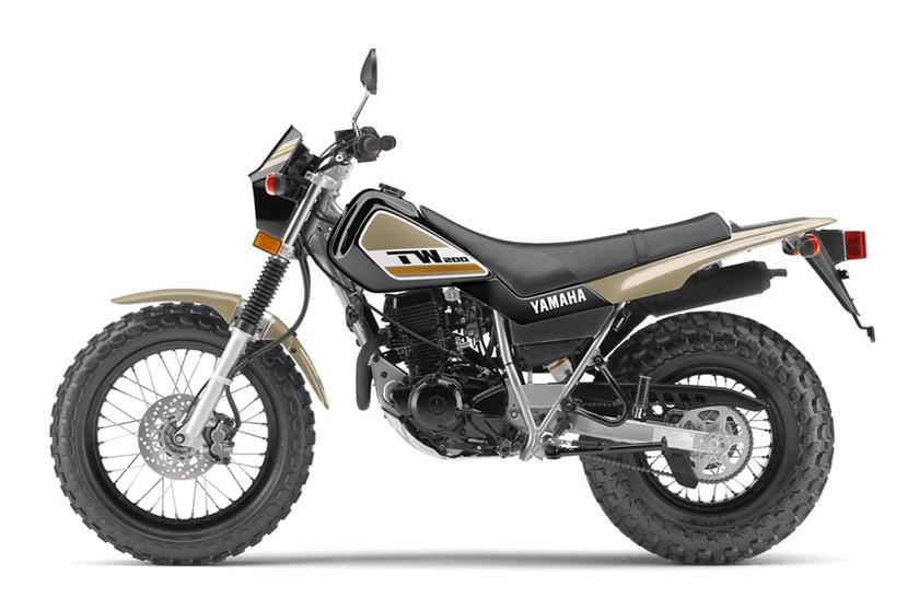 2018 Yamaha TW200 in Phillipston, Massachusetts