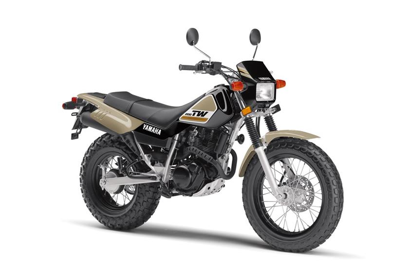2018 Yamaha TW200 in Tamworth, New Hampshire