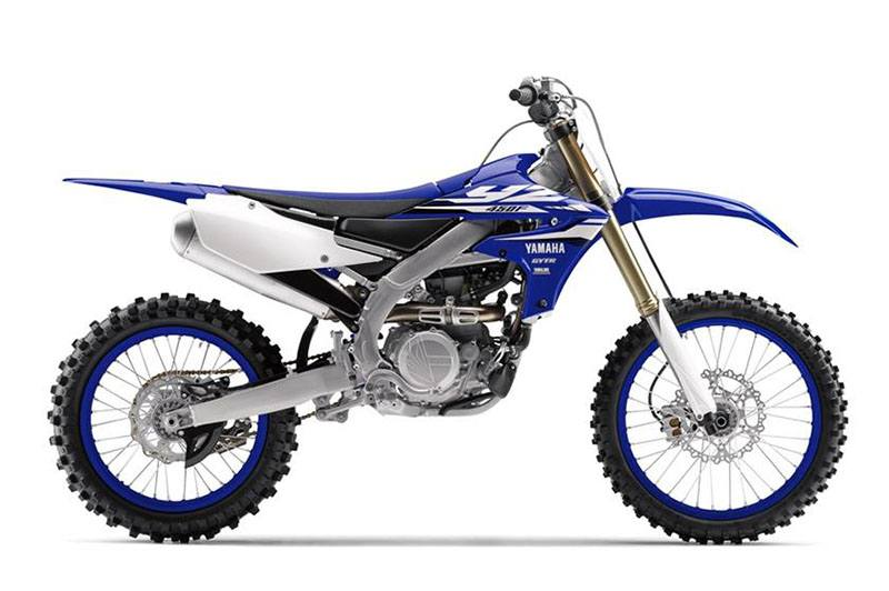 2018 Yamaha YZ450F in Dimondale, Michigan