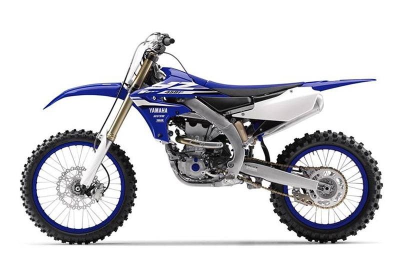 2018 Yamaha YZ450F in Clarence, New York