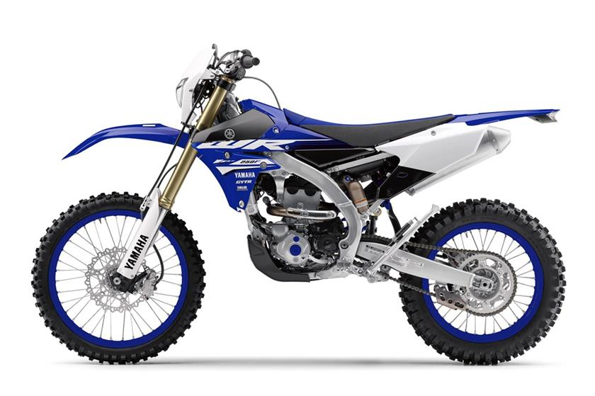 2018 Yamaha WR250F in Phillipston, Massachusetts