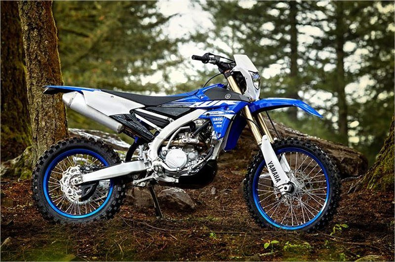2018 Yamaha WR250F in Tamworth, New Hampshire