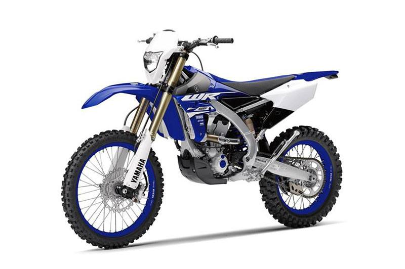 2018 Yamaha WR450F in Derry, New Hampshire