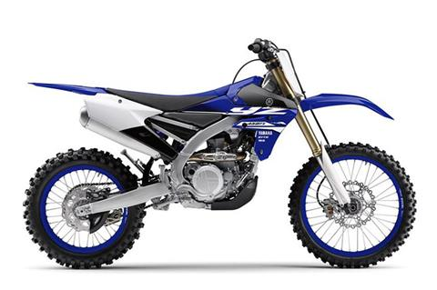 2018 Yamaha YZ450FX in Baldwin, Michigan
