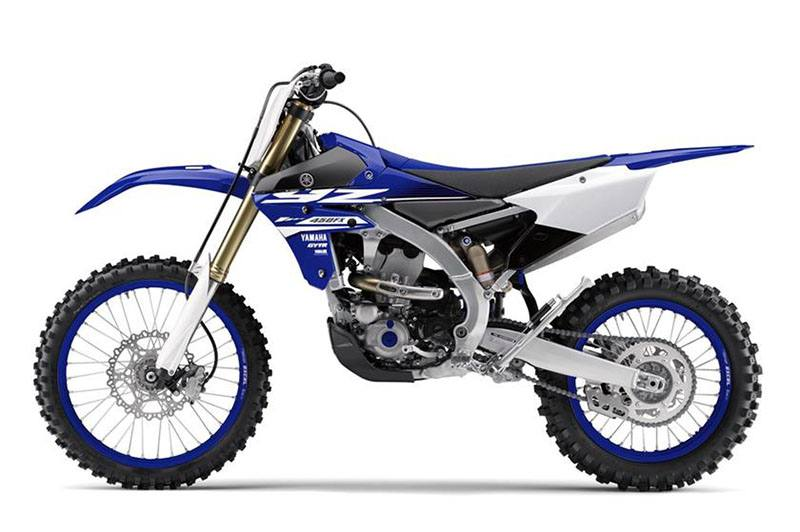 2018 Yamaha YZ450FX in Merced, California