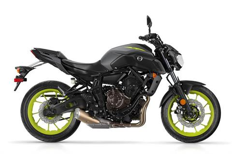 2018 Yamaha MT-07 in Tamworth, New Hampshire