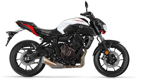 2018 Yamaha MT-07 in Phillipston, Massachusetts