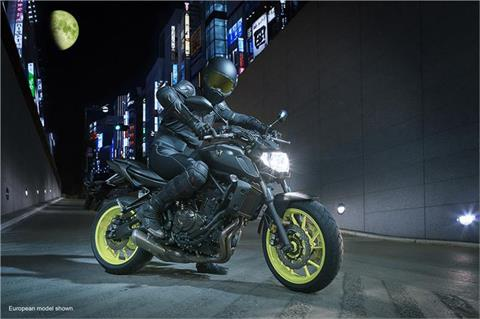 2018 Yamaha MT-07 in Johnson Creek, Wisconsin