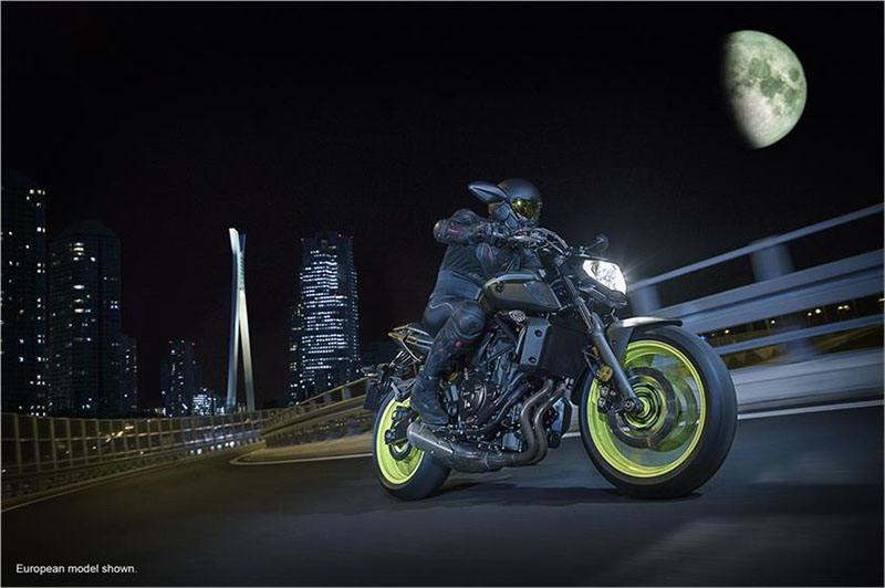 2018 Yamaha MT-07 in Johnson City, Tennessee