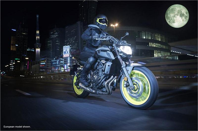 2018 Yamaha MT-07 in Derry, New Hampshire