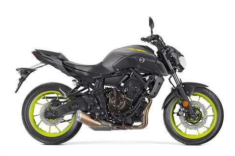 2018 Yamaha MT-07 in Hailey, Idaho