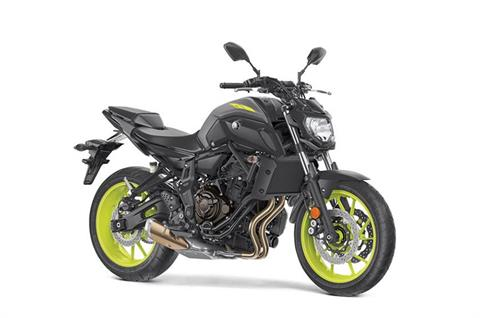 2018 Yamaha MT-07 in Lowell, North Carolina