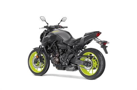 2018 Yamaha MT-07 in Petersburg, West Virginia