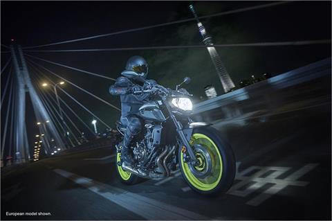 2018 Yamaha MT-07 in Asheville, North Carolina