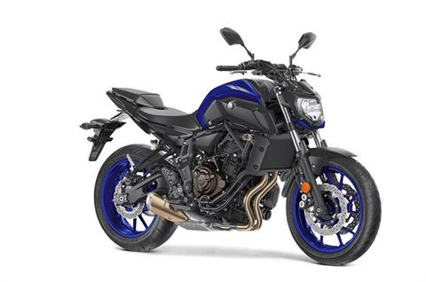 2018 Yamaha MT-07 in Santa Clara, California - Photo 2