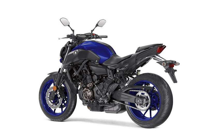 2018 Yamaha MT-07 in Hendersonville, North Carolina