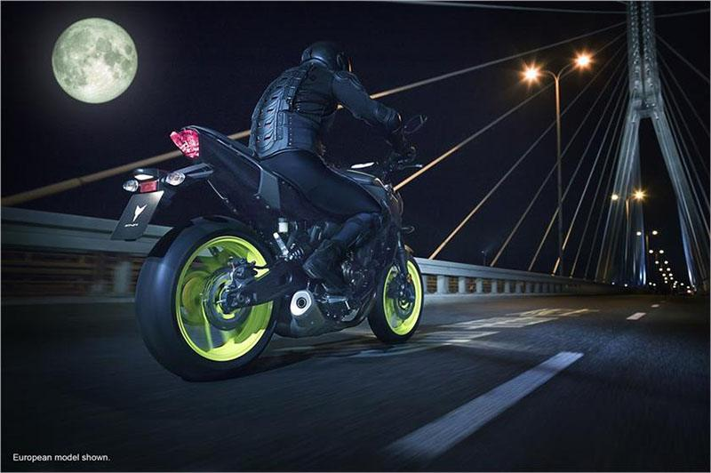 2018 Yamaha MT-07 in Shawnee, Oklahoma