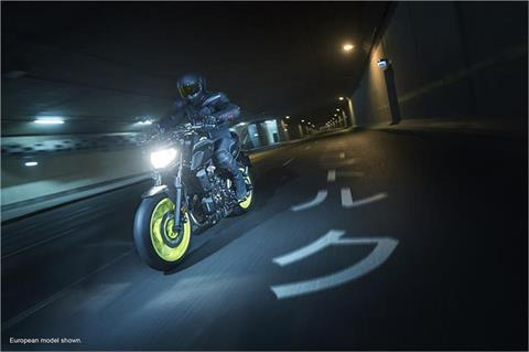 2018 Yamaha MT-07 in Greenville, North Carolina
