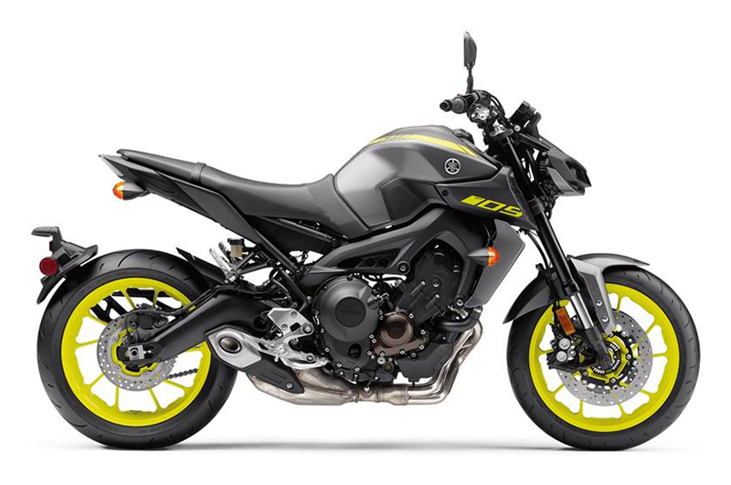 2018 Yamaha MT-09 in Berkeley, California