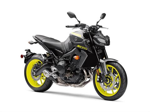 2018 Yamaha MT-09 in Darien, Wisconsin