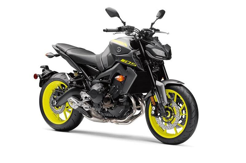 2018 Yamaha MT-09 in Olympia, Washington