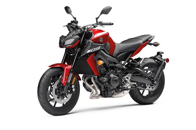 09 >> New 2018 Yamaha Mt 09 Motorcycles In Asheville Nc Rapid Red 002628
