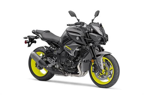 2018 Yamaha MT-10 in Northampton, Massachusetts