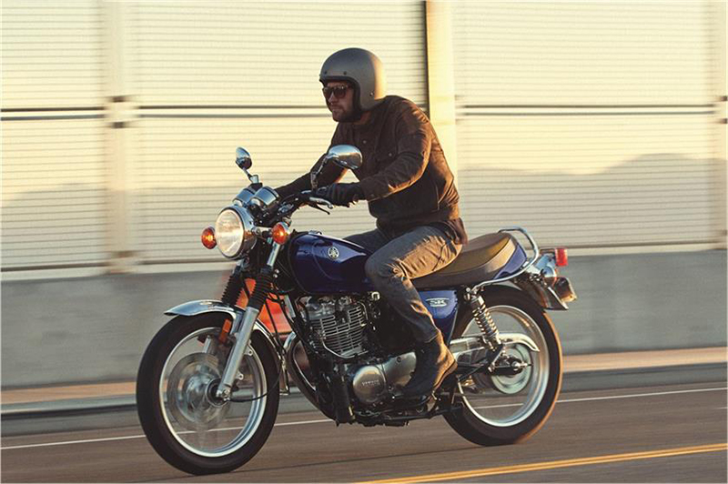 2018 Yamaha SR400 in Goleta, California