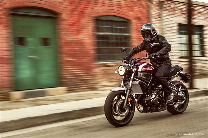 2018 Yamaha XSR700 in Sacramento, California