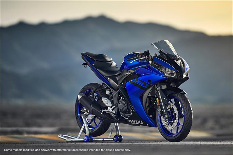 New 2018 yamaha yzf r3 motorcycles in stillwater ok for Yamaha of stillwater