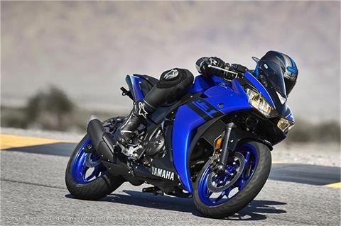 2018 Yamaha YZF-R3 in Greenville, North Carolina