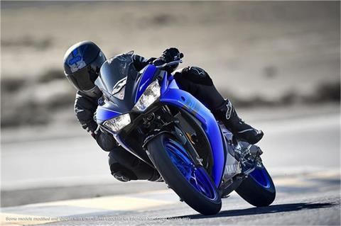 2018 Yamaha YZF-R3 in Hendersonville, North Carolina