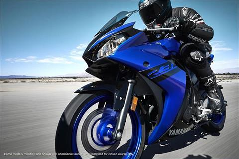 2018 Yamaha YZF-R3 in Derry, New Hampshire