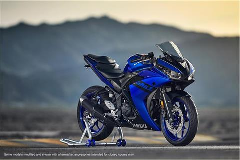 2018 Yamaha YZF-R3 ABS in Derry, New Hampshire