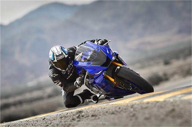 2018 Yamaha YZF-R6 in Derry, New Hampshire
