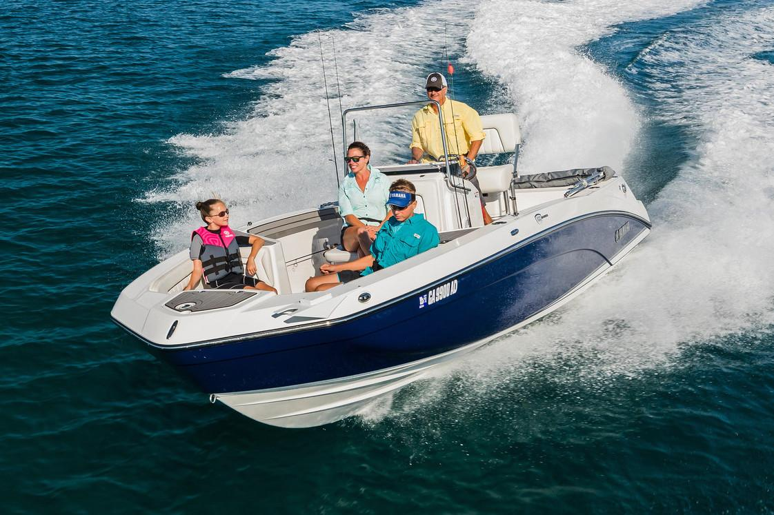 2018 Yamaha 210 FSH Deluxe in Naples, Maine