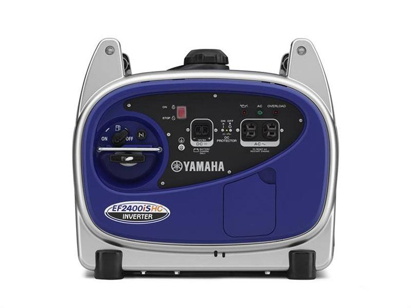 2018 Yamaha EF2400iSHC Generator in Brewton, Alabama