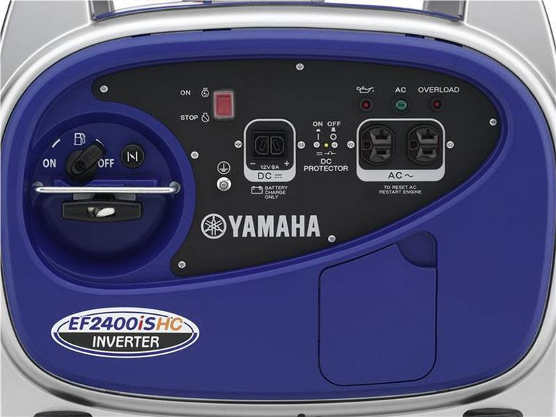 2018 Yamaha EF2400iSHC Generator in Tulsa, Oklahoma - Photo 4