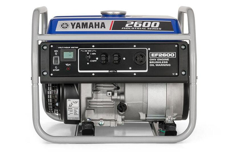 2018 Yamaha EF2600 Generator in Johnson Creek, Wisconsin