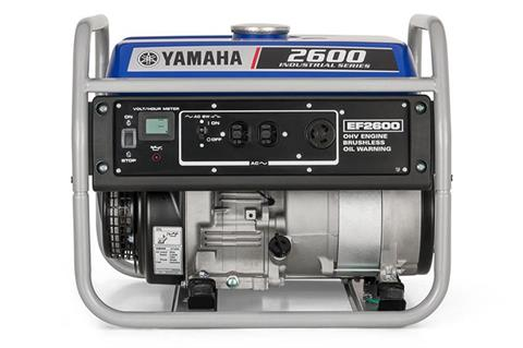 2018 Yamaha EF2600 Generator in Greenville, North Carolina