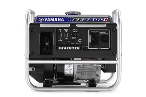 2018 Yamaha EF2800i Generator in Greenville, North Carolina