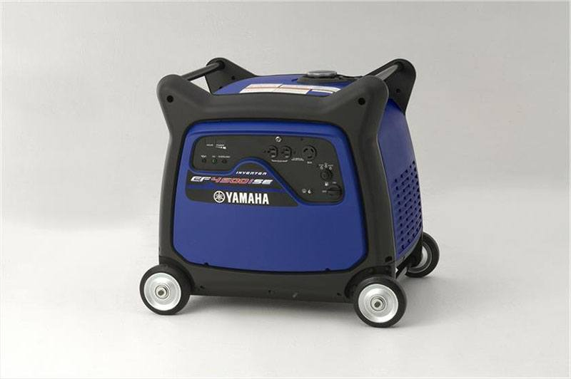 2018 Yamaha EF4500iSE Generator in Utica, New York