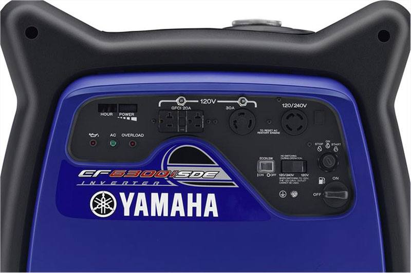 2018 Yamaha EF6300iSDE Generator in Tulsa, Oklahoma - Photo 4