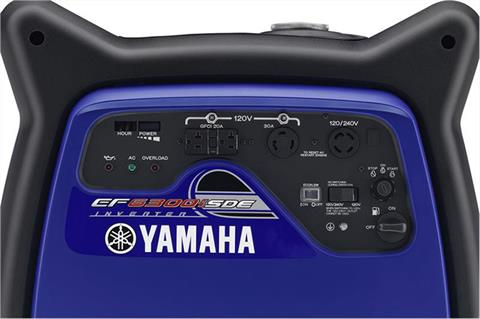 2018 Yamaha EF6300iSDE Generator in Riverdale, Utah - Photo 4