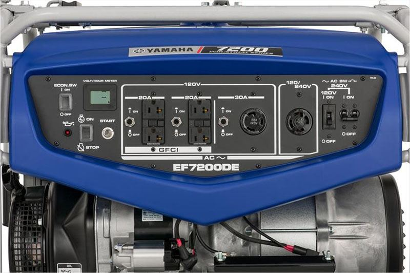 2018 Yamaha EF7200DE Generator in Brewton, Alabama