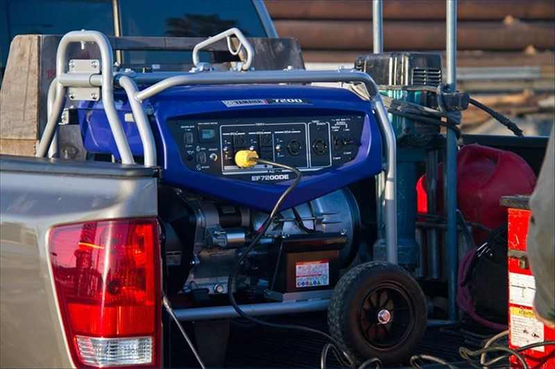 2018 Yamaha EF7200D Generator in Sumter, South Carolina